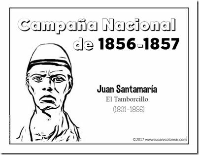 Campaña Nacional  de 1856-1857  santamaria (1)