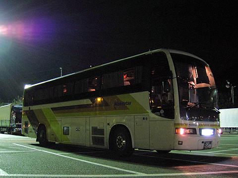 西鉄高速バス「さぬきエクスプレス福岡号」 3175 鴻ノ池パーキングエリアにて