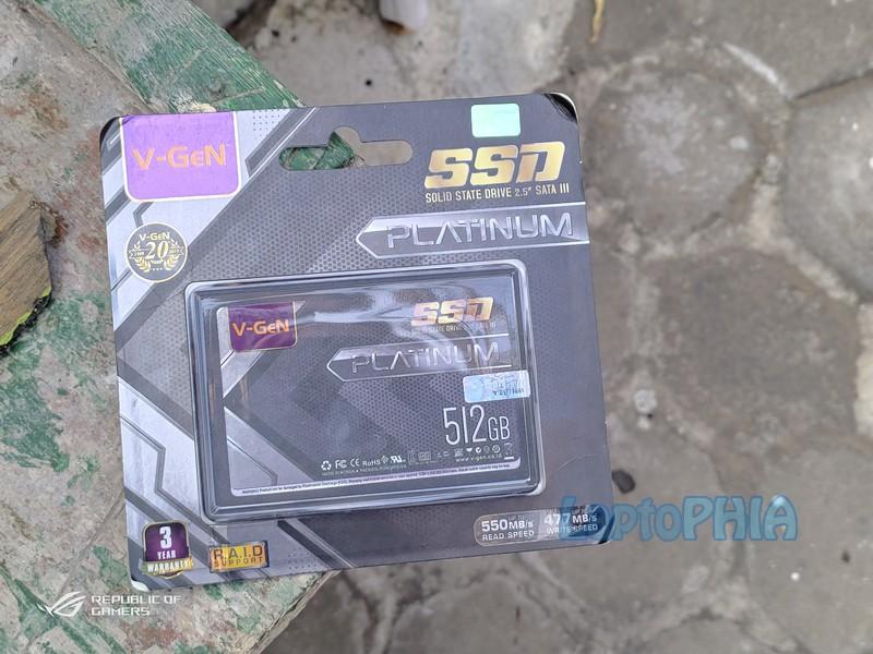 Paket Pembelian VGen Platinum 512GB SSD