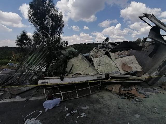 Trágico accidente deja 5 muertos en Valle de Guadalupe