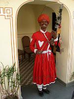 Musician - City Palace - Jaipur, Rajasthan