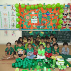 Green Colour Day Celebration WKSN (NUrsery) 09/10/2015