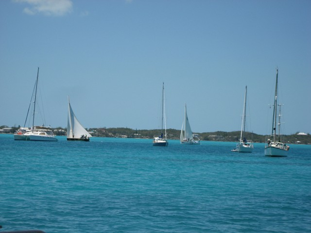 Bahamas race boats