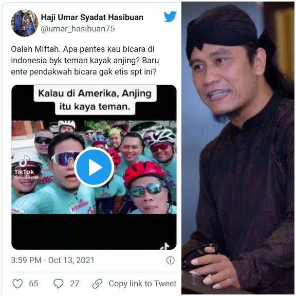 Gus Miftah Bilang di Indonesia Banyak Teman Seperti Anjing, Tokoh NU Bereaksi Keras