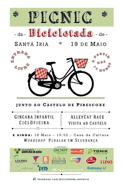 Cartaz PICNIC da Bicicletada 2013