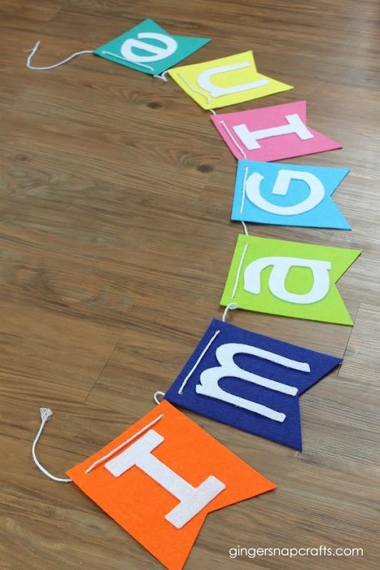 felt banner