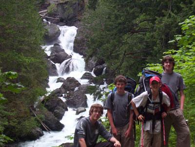 Dosewallips Cascades