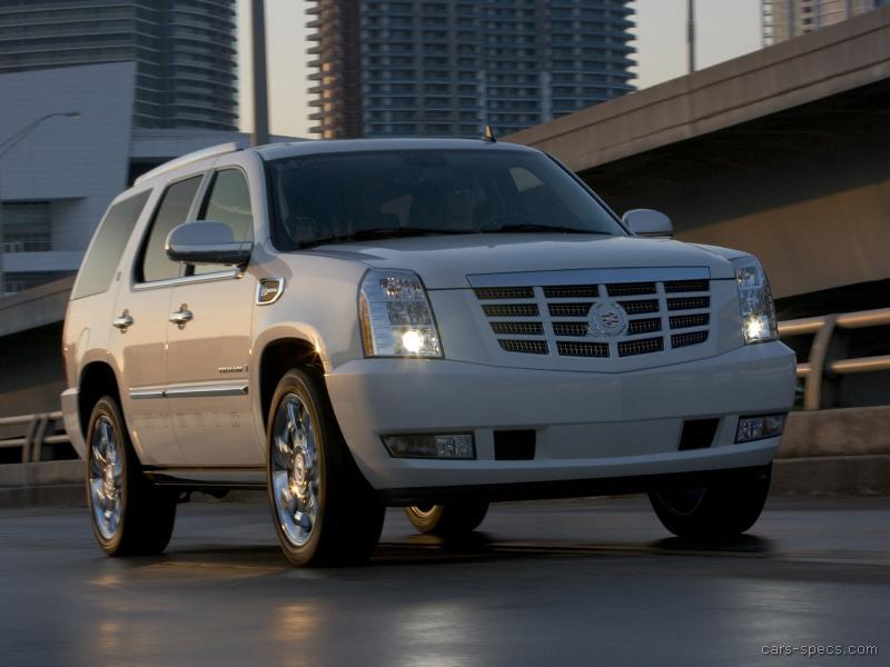 2010 cadillac escalade hybrid suv specifications pictures prices. Cars Review. Best American Auto & Cars Review