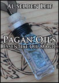 Cover of Al Selden Leif's Book Pagan Oils Essential Oil Magic