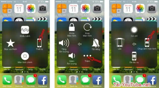Hình 4 - Hướng dẫn cách chụp ảnh màn hình iPhone, iPad