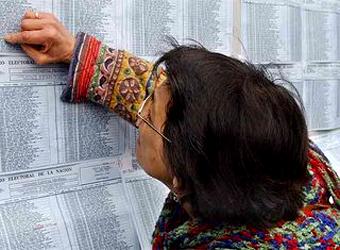 Padron Electoral 2011