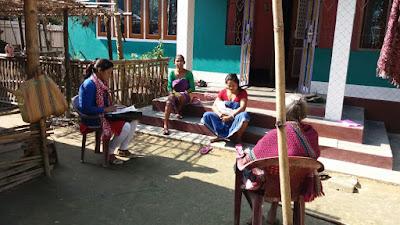Home visit at Dumerguri Pt II, Bongaigaon