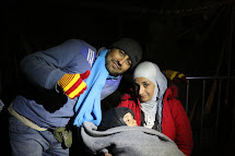 Anas, Zeina a dvouletý Mohamed utekli ze Sýrie. (Foto: Petr Štefan, ČvT)
