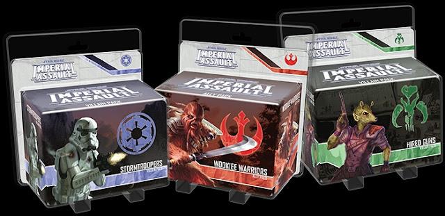 Wave 3 Imperial Assault y sus expansiones