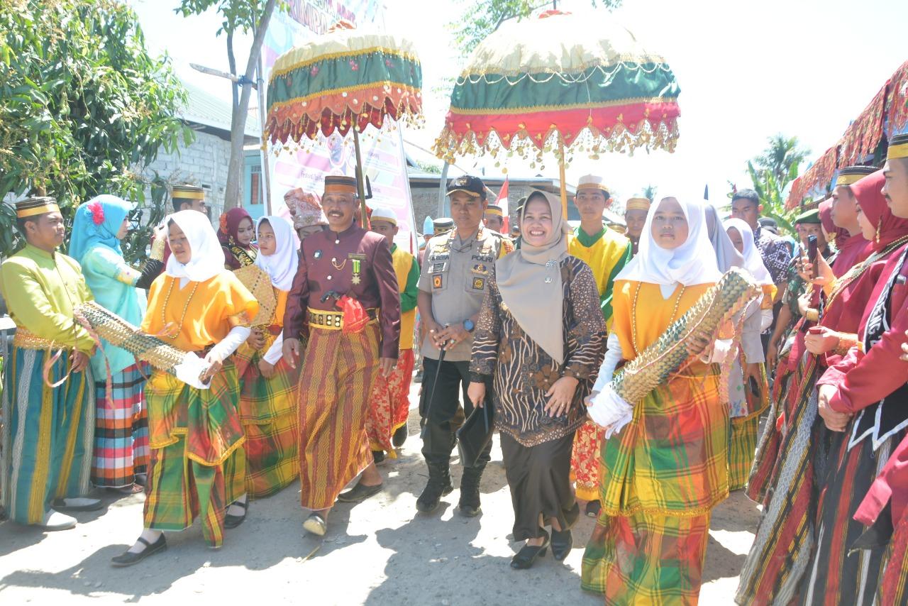 Hadiri Pesta Adat Ma'Rimba Salo,  Andi Kartini: Pesta ini Masuk Calender Of Event Provinsi Sulsel