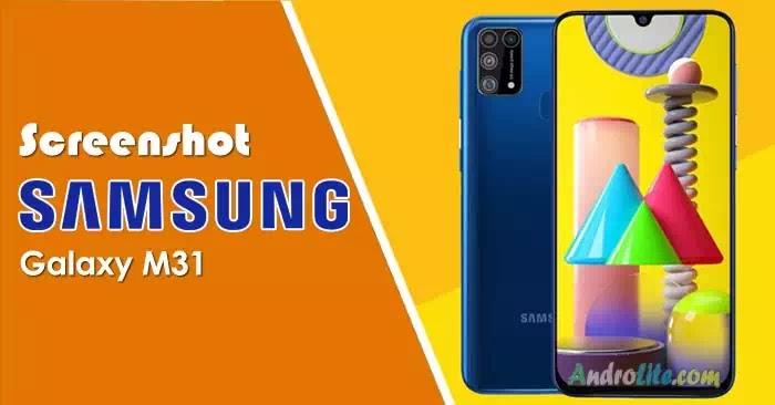 Screenshot Samsung Galaxy M31