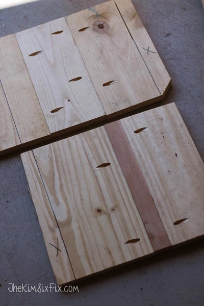 Connecting 1x4 boards with pocket holes