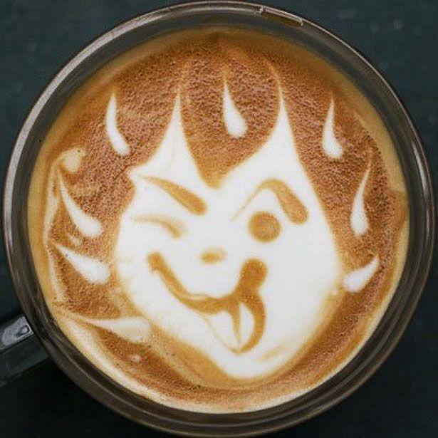 Macam-Macam Seni Latte Pada Kopi