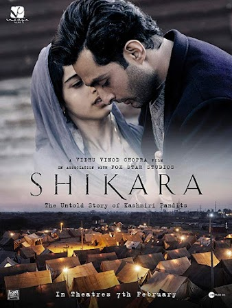 Poster Of Hindi Movie Shikara 2020 Full HD Movie Free Download 720P Watch Online