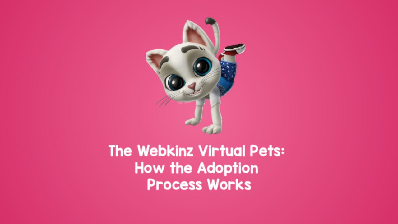 THE Webkinz Virtual Pets: How the Adoption Process Works