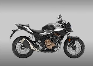 Motor Honda CBR Warna Hitam