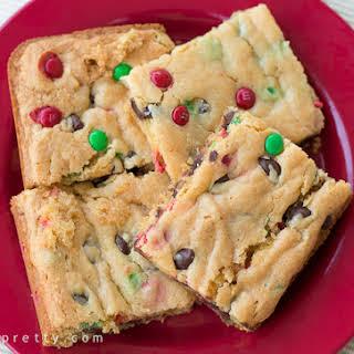 Cake Mix Cookie Bars.