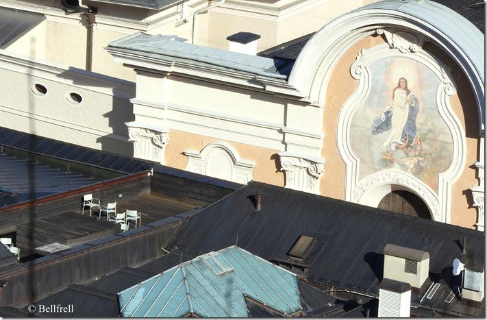 Terrasse mit Marienblick
