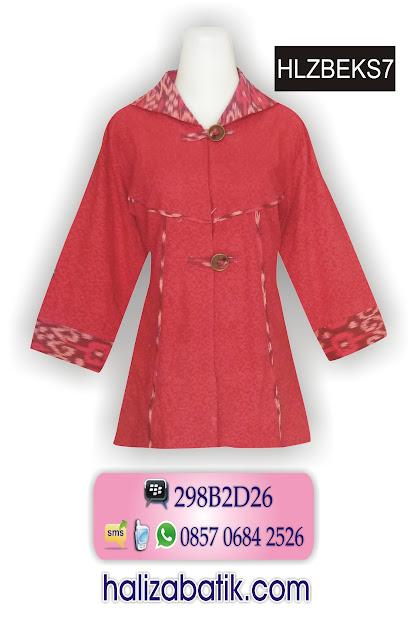 grosir batik pekalongan, Dress Batik Terbaru, Busana Batik Wanita, Baju Grosir