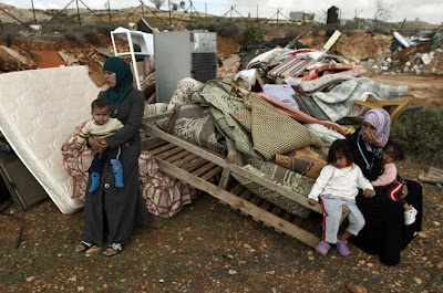 Many Palestinians have been left homeless after occupying Israeli forces demolished their homes (EPA)