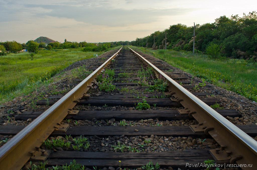 Путь до станции Торез