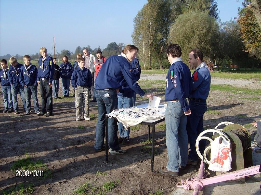 Installatie Bevers, Welpen en Zeeverkenners 2008 - HPIM2167.jpg