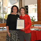 2015 Merit Awardee Angela Cini, Gina Gregory