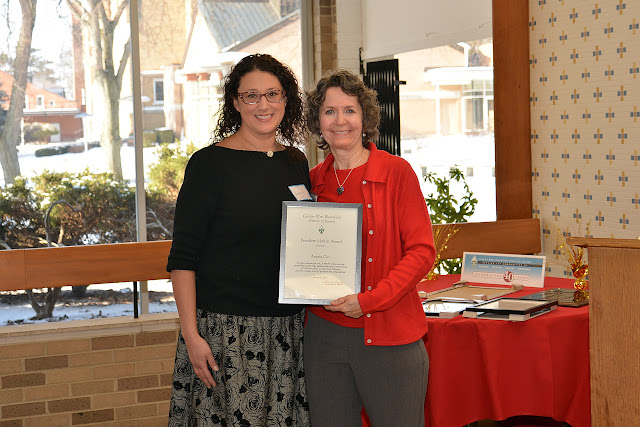 2015 Merit Awardee Angela Cini, Gina Gregory