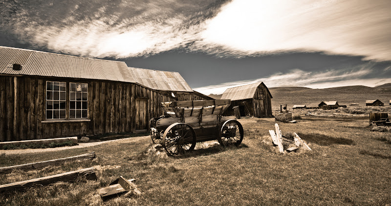 Great American Road Trip, cz.6 -- Bodie, miasto-duch..