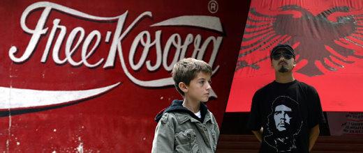La independència de Kosovë... Avalada pels EUA, donant suport a l'OTAN... Què deu estar pensant ara el revolucionari?