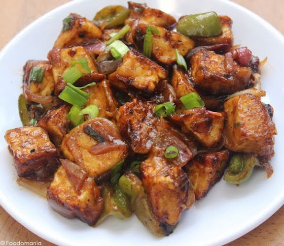 paneer chilli recipe foodomania