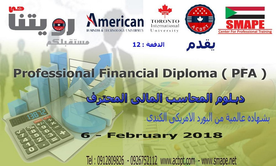 Professional Financial Accountant (PFA)
