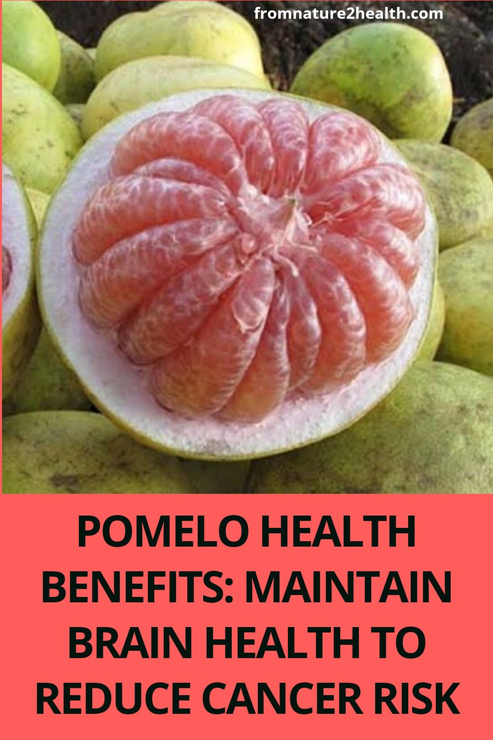 Pomelo Health Benefits: Maintain Brain Health to Reduce Cancer Risk