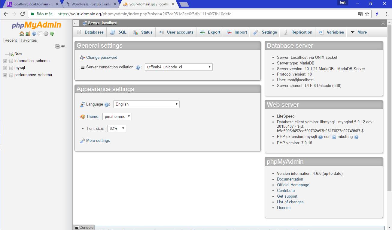 [LOMP – 5] Cài đặt Web Server OpenLiteSpeed trên Red Hat CentOS 7 – Tổng chạy hệ thống