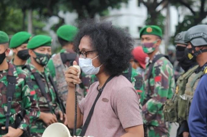 Jakarta, Gabungan Massa  AMP, AMPTPI dan FRI-WP Peringati Trikora 19 Desember 1961; Dibubarkan Paksa Oleh Gabungan TNI-POLRI dan Ormas