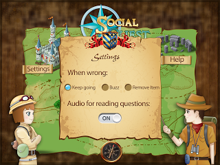 Social Quest Settings