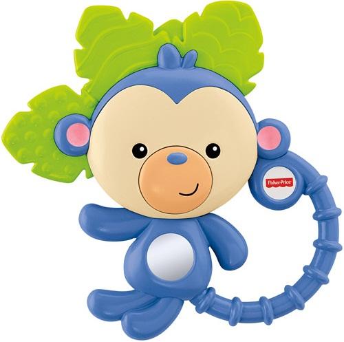 Đồ chơi Ngậm nướu Khỉ con Fisher Price Monkey Teether (dài ~ 13 cm)