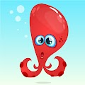 Cartoon Funny Octopuss Illustration Free Download Vector CDR, AI, EPS and PNG Formats