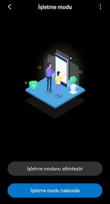 Xiomi Cep Telefon İşletme Modu Nedir? Ne İşe Yarar?