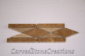 Border, Flooring, Flooring & Mosaics, Interior, Listello, Mosaic, Natural, Stone, Travertine, Trim