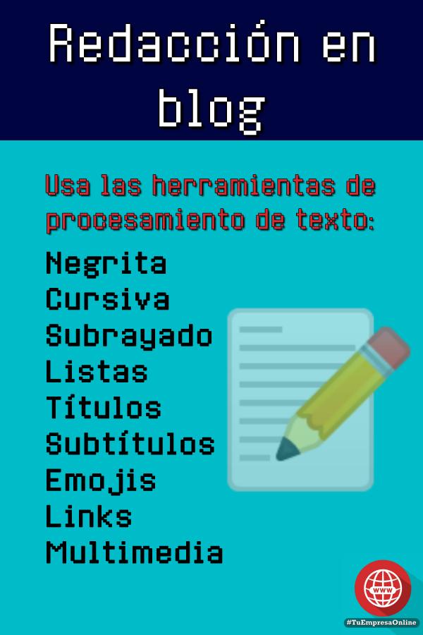 elementos de redaccion