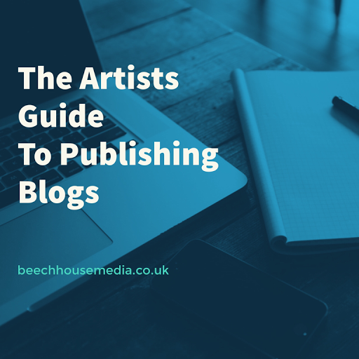 the artists guide to publishing blogs