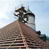 Oprava krovu a střechy kostela 8.10.2014