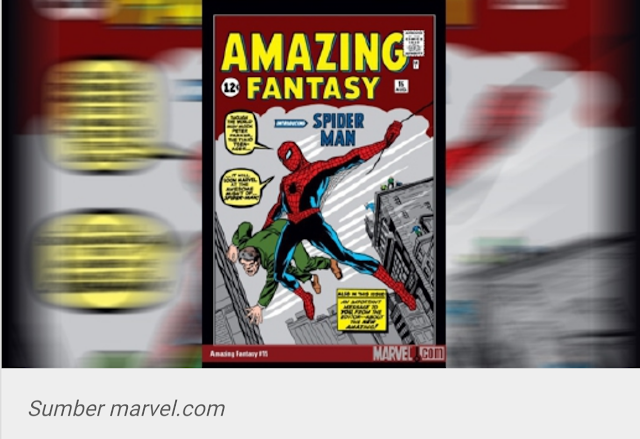 Komik Pertama Spiderman Dijual RM1.8 Juta