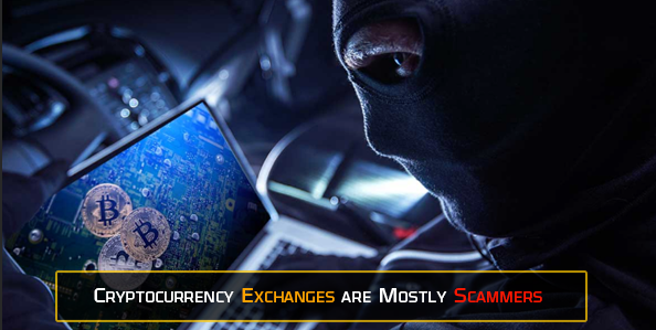Crypto Exchanges are Mostly Scammers - List of all Hacked